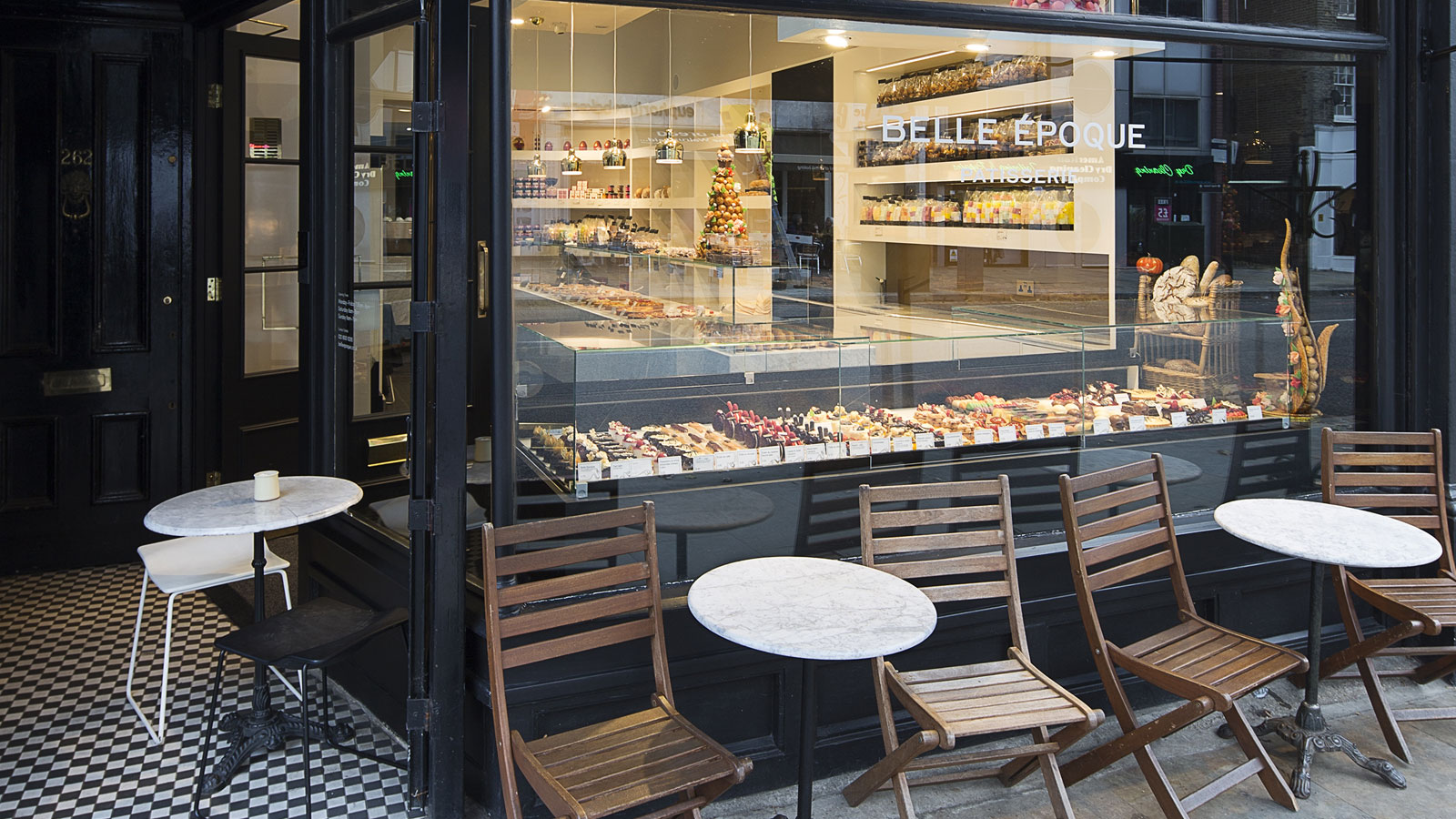 Belle Époque Patisserie London's most romantic cafes